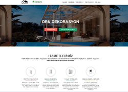 Dekorasyon Web Sitesi Tasarımı