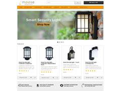 Mooseled e-ticaret web sitesi tasarımı