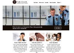 Güvenlik Web Sitesi Tasarımı