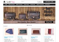 Quality Purse e-Ticaret Web Sitesi Tasarımı