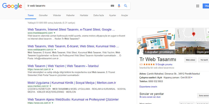 Google Benim İşletmem (Google My Business) Hizmeti KOBİ'ler için Gerekli midir?